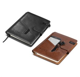 Ashburton USB Folder  Brown  8GB