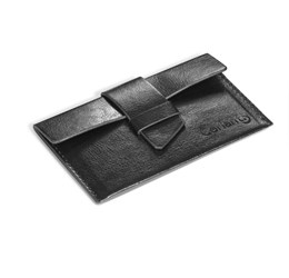 Fabrizio Business Card Holder  Black Only