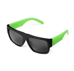 Frenzy Sunglasses  Lime Only