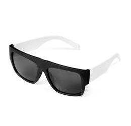 Frenzy Sunglasses  Solid White Only