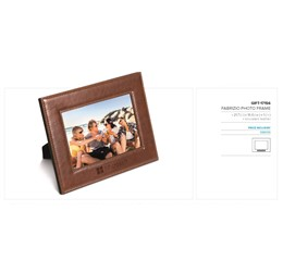 Fabrizio Executive Photo Frame  Brown Only