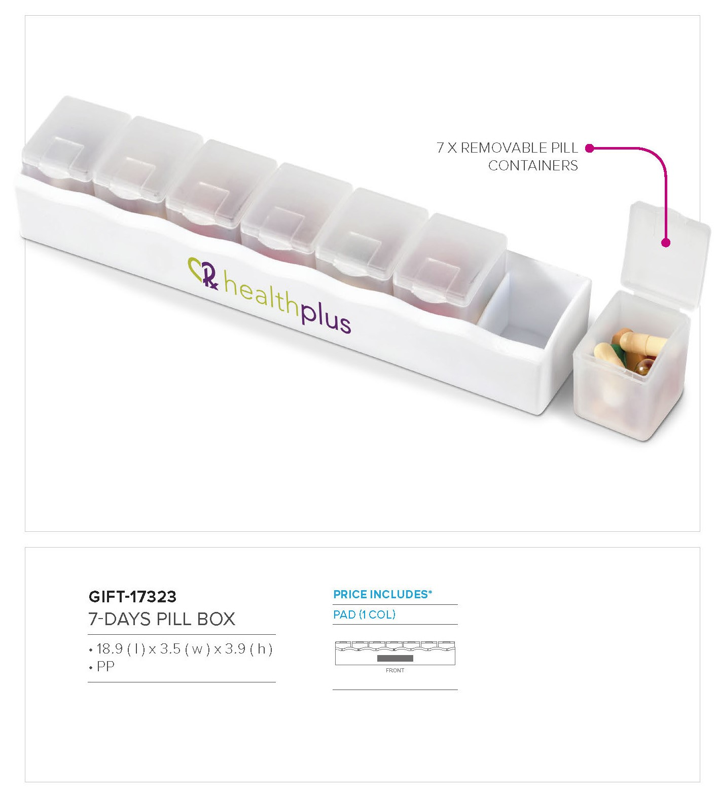 Product: 7-Days Pill Box