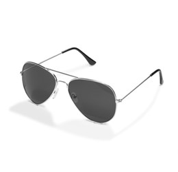 Crossfield Sunglasses  Silver Only