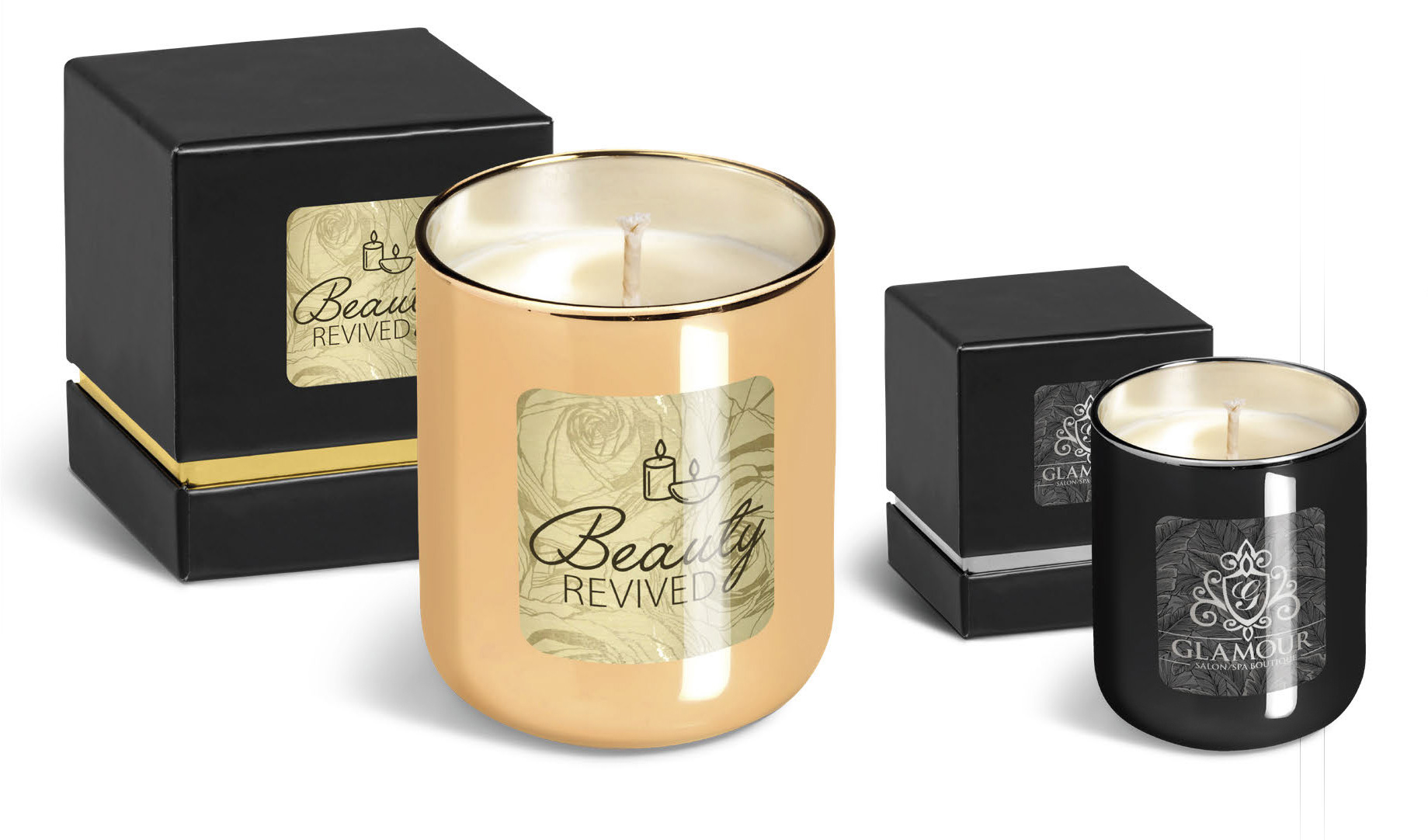 Product: Romance Glass Candle