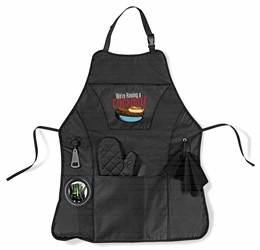 Cookout Bbq Apron  Black Only