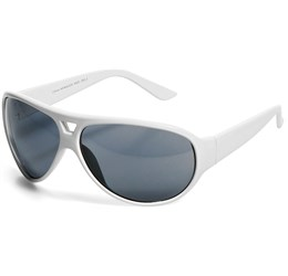 Cruise Sunglasses  Solid White Only