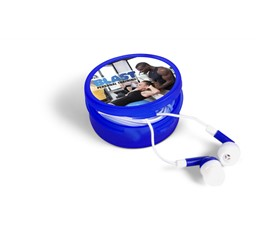 Acoustix Earbuds  Blue Only