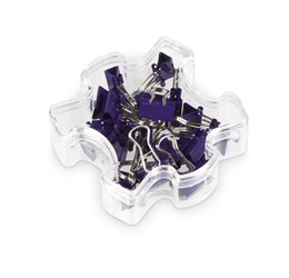 Jigsaw Binder Clips - Purple Only