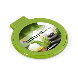 Fashionista Cosmetics Mirror  Lime Only