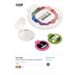 Fashionista Cosmetics Mirror
