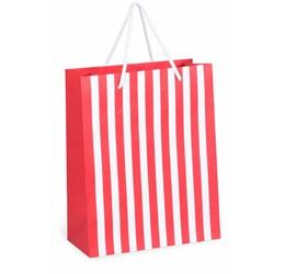 Candy Cane Midi Gift Bag