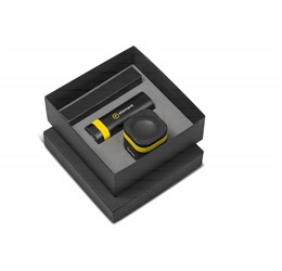 Bandit Power Bank and Bluetooth Speaker Gift Set  Yellow