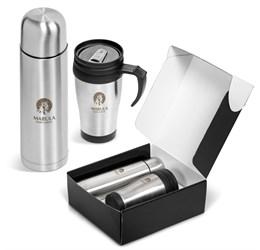 CoffeeandMe 500Ml DoubleWall Flask and Mug Gift Set