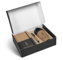 Sienna Cork Gift Set  Black Only