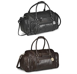 Gary Player Elegant Leather Weekend Bag