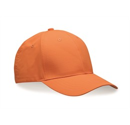 Performance 6 Panel Cap  Orange  Orange Only