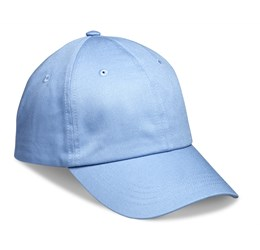 Accelerate 6 Panel Cap  Light Blue Only
