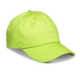 Accelerate 6 Panel Cap  Lime Only