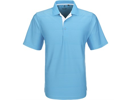 Gary Player Mens Admiral Golf Shirt in aqua Code GP-3502