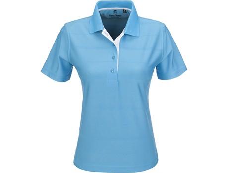 Gary Player  Admiral Ladies Golf Shirt in aqua Code GP-3503