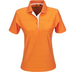 Ladies Admiral Golf Shirt  Orange Only