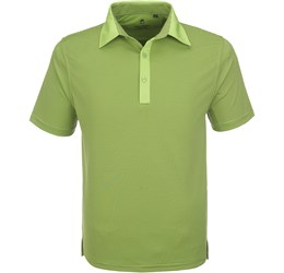 Golfers - Mens Pensacola Golf Shirt  Lime Only