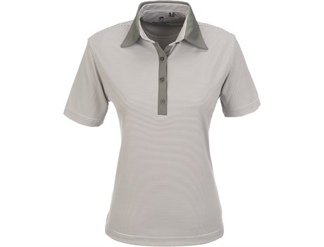 Gary Player Ladies Pensacola Golf Shirt in grey Code GP-5251