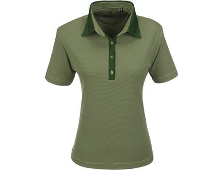 Gary Player Ladies Pensacola Golf Shirt in Green Code GP-5251