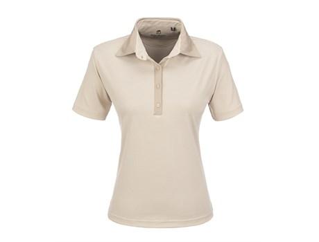 Gary Player Ladies Pensacola Golf Shirt in khaki Code GP-5251
