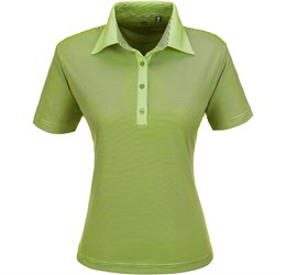 Ladies Pensacola Golf Shirt  Lime Only
