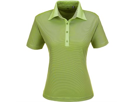 Gary Player Ladies Pensacola Golf Shirt in lime Code GP-5251