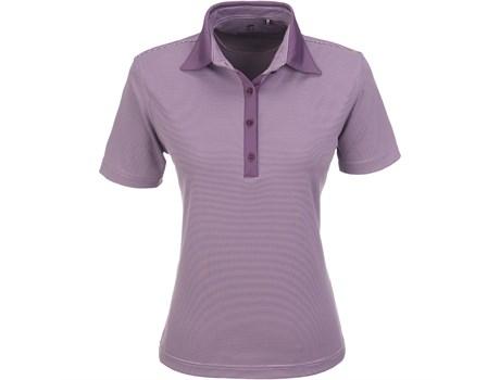 Gary Player Ladies Pensacola Golf Shirt in Purple Code GP-5251