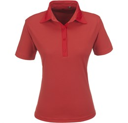 Ladies Pensacola Golf Shirt  Red Only