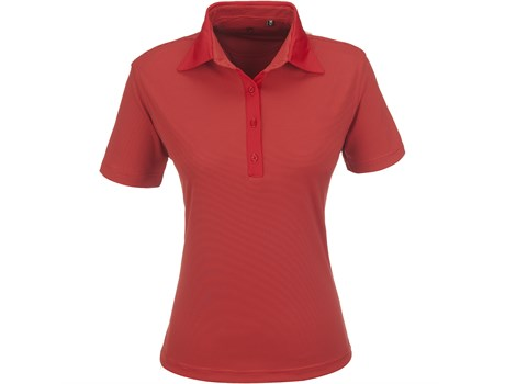 Gary Player Ladies Pensacola Golf Shirt in red Code GP-5251