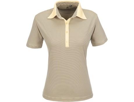 Gary Player Ladies Pensacola Golf Shirt in Yellow Code GP-5251