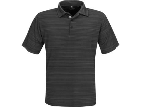 Gary Player Mens Astoria Golf Shirt in black Code GP-7454