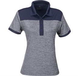 Golfers - Ladies Baytree Golf Shirt  Navy Only