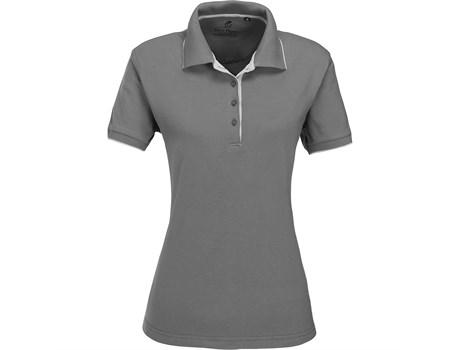 Gary Player Ladies Wentworth Golf Shirt in Grey Code GP-7459