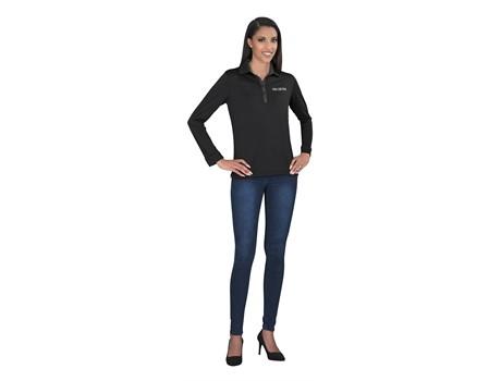 Ladies Long Sleeve Pensacola Golf Shirt Gp 7461