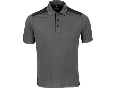 Gary Player Mens Sterling Ridge Golf Shirt in black Code GP-9300