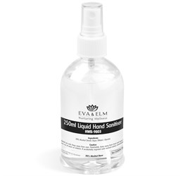 Eva and Elm Rochdale Liquid Hand Sanitiser Spray  250ml