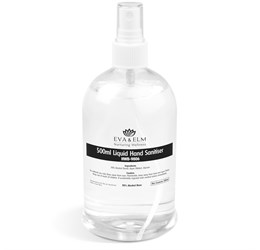 Eva and Elm Medway Liquid Hand Sanitiser  500ml