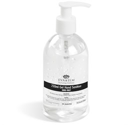 Eva and Elm Amesbury Gel Hand Sanitiser  250ml