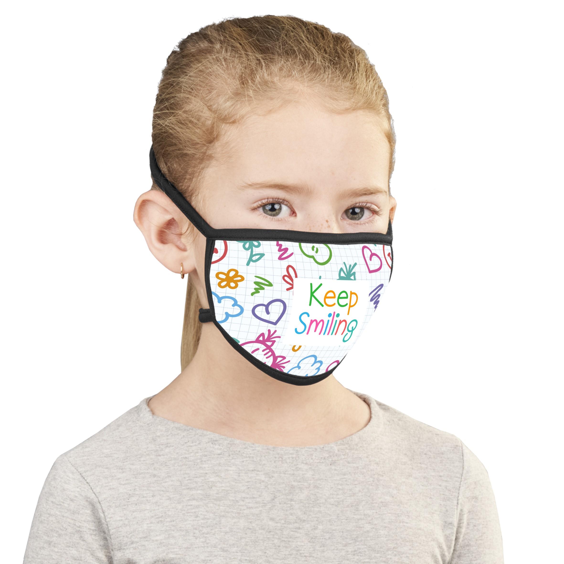 Product: Buzz Junior Sublimation Mask - Single