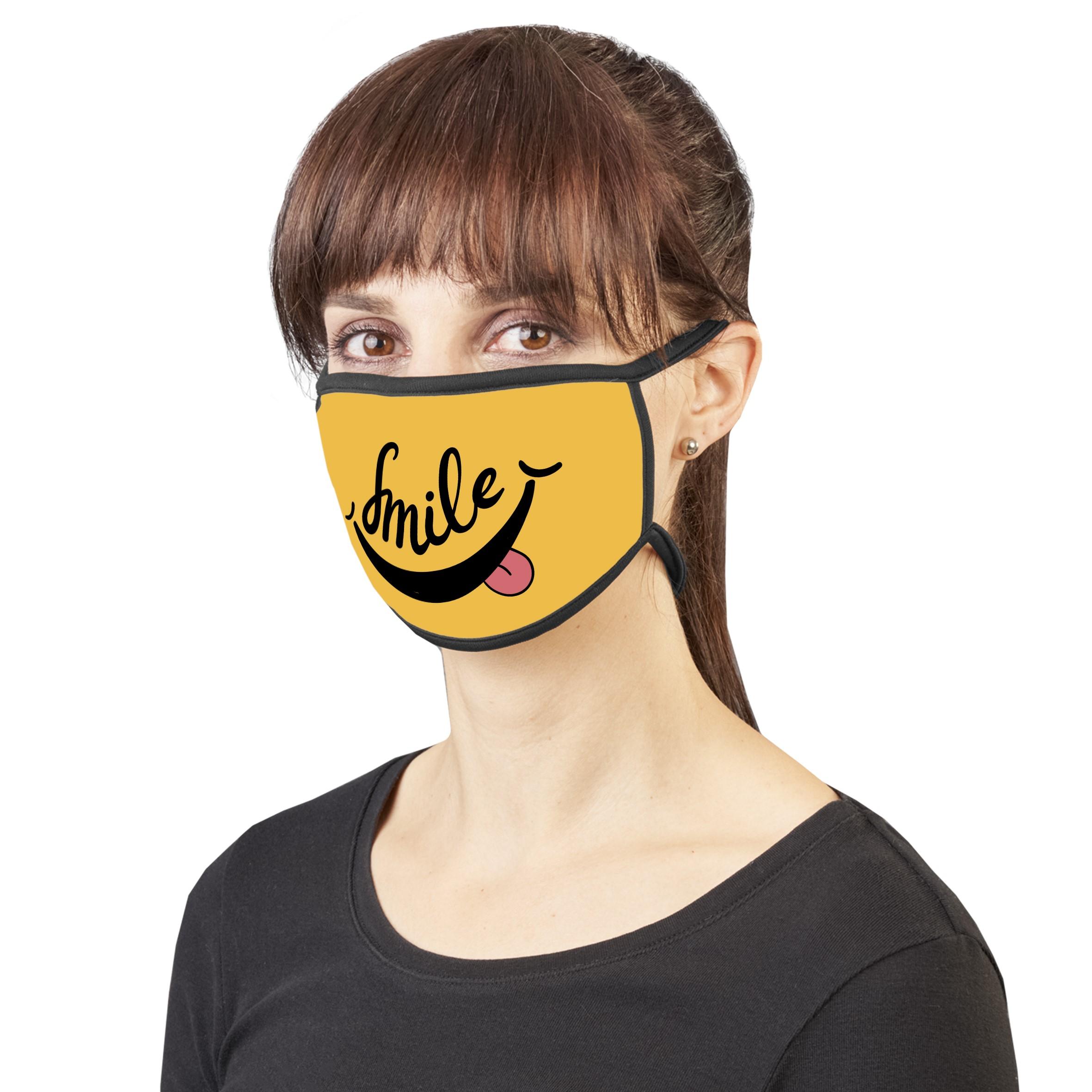 Product: Savvy Senior Sublimation Mask - Single