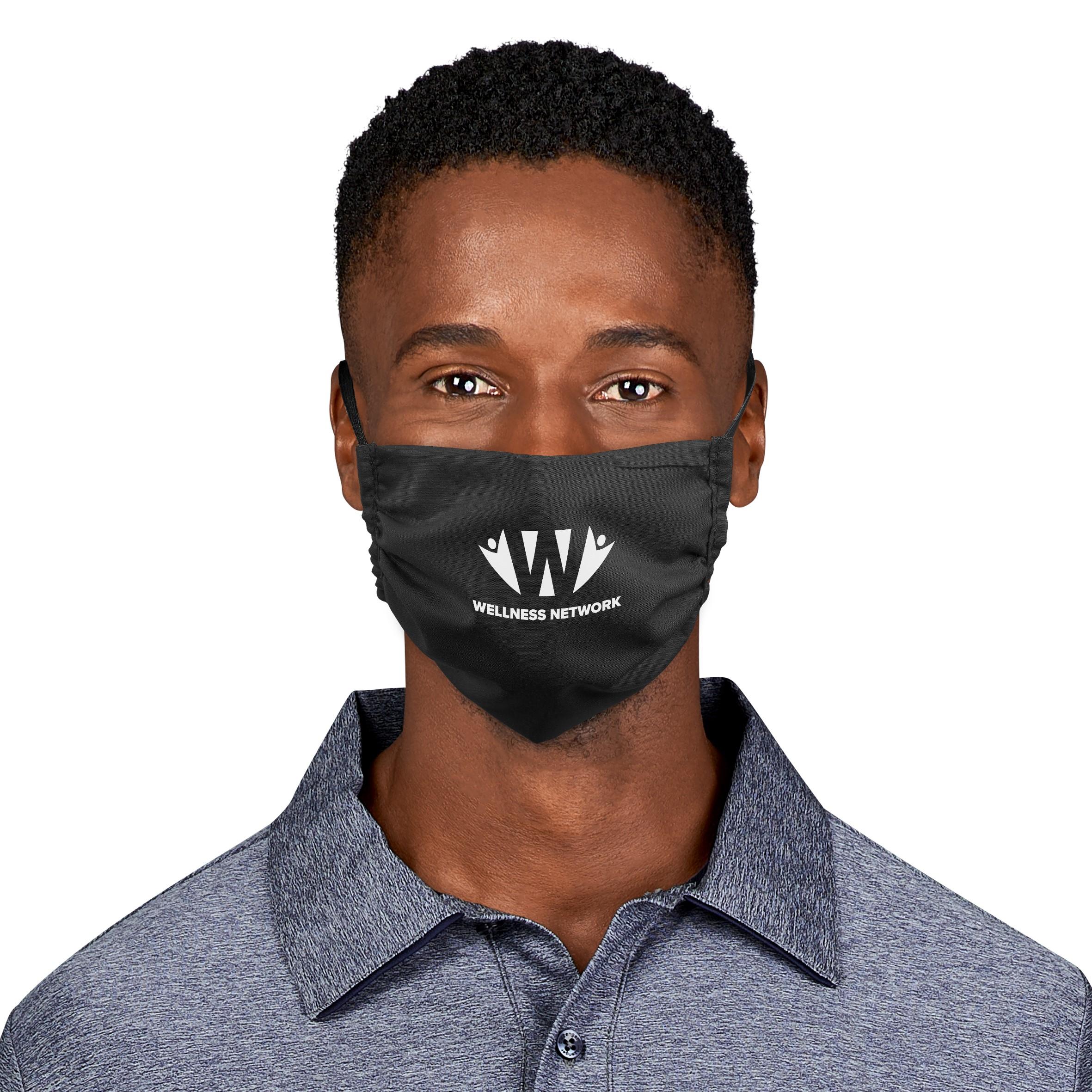 Product: Eva & Elm Double Layer Senior Face Mask - Black Only - Single