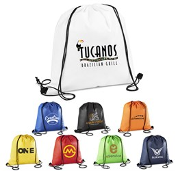 Whitefield Nonwoven Drawstring Bag