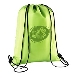 Marley Drawstring Cooler Bag  Lime Only