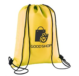Marley Drawstring Cooler Bag  Yellow Only