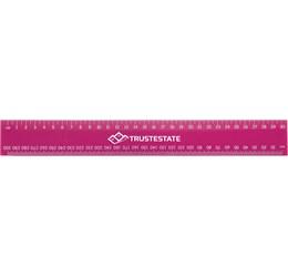 Basix 30cm Ruler  Pink Only
